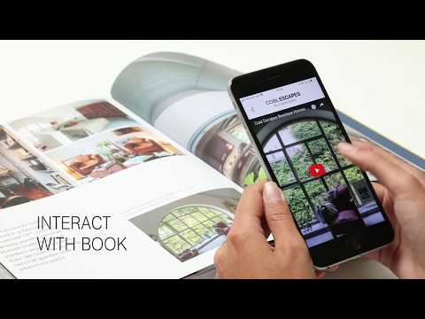 Cool Escapes Boutique Homes Coffee Table Book with App