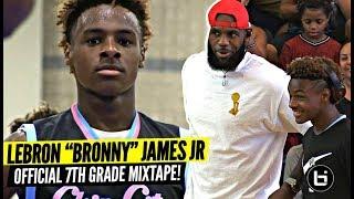 69a6e8491a5 Bronny James Jr OFFICIAL Mixtape Vol. 1!!!