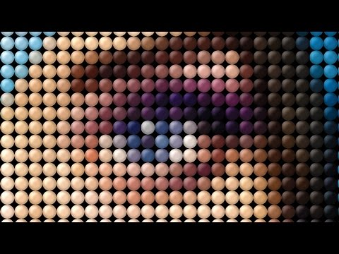 Photoshop Tutorial: How to Transform a Photo into a Dot, Mosaic Portrait