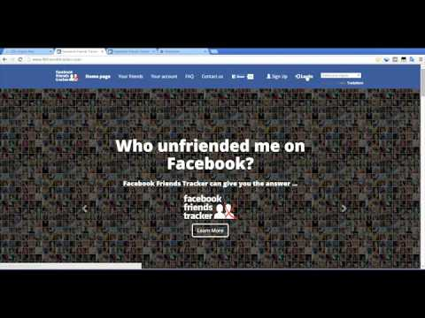 Tutorial: How to know if someone unfriended me on Facebook?