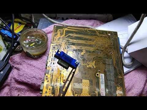 desktop computer motherboard #vga port replace tutorial
