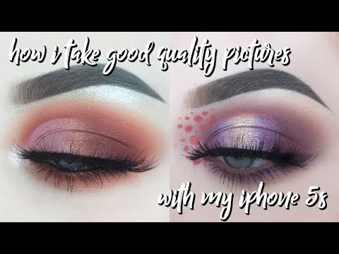How I Take My Makeup Pictures for Instagram / IPHONE 5S! | alicekingg