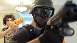 NERF WAR: SWAT TEAM!