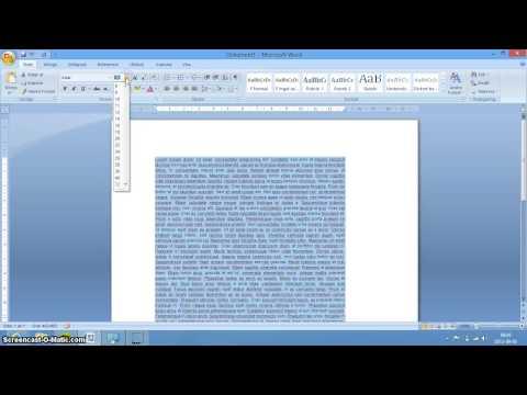 Lättlästa dokument i Word