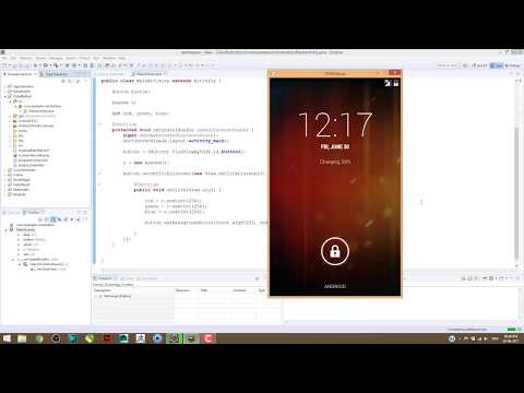 develop Simple Color Generator App In Android  With Eclipse
