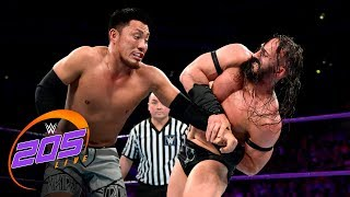 Neville & Tozawa battle for Cruiserweight Title before Enzo Amore arrives: 205 Live, Aug. 22, 2017