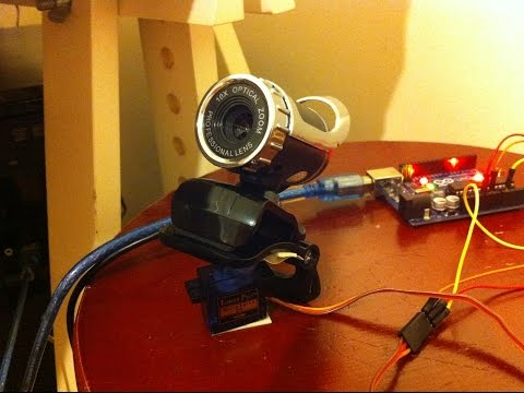 Arduino Powered Automated Security Camera