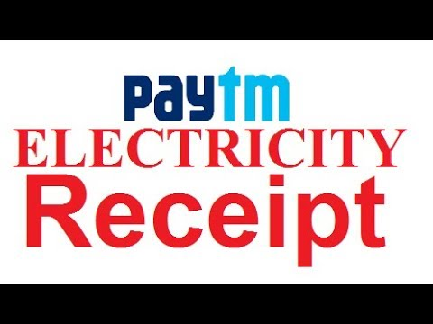 🔴 Paytm - How to Get Receipt of Your Electricity Bill Payment 🔴