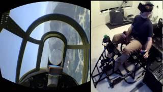 Full Real Battle - War Thunder With Rift / Max Flight Stick / Razer Hydra / Tridef / Opentrack