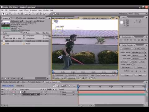 Adobe After Effects Tutorial 1(Part 2)