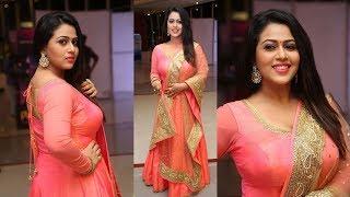 Diana Champika At Indrasena Telugu Movie Audio Launch