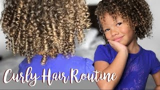 Download Curly Hair Routine   Kid Friendly! Video