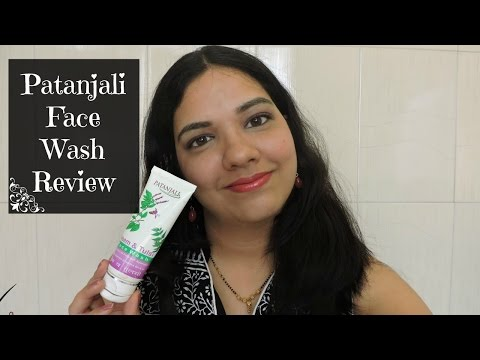 Patanjali Neem Tulsi Face Wash Review (Hindi)   Collab with Superbeautydesires   beautywithsneha