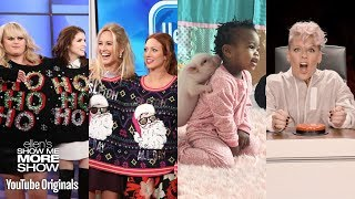 The Cast Of pitch Perfect 3 Ellens Worst Idea Adorable Animal Babies And Pnk