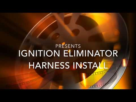 Installing a Keyswitch Bypass / Ignition Eliminator Harness