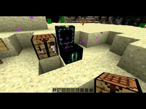 minecraft- how to make ender chest [1.4.7]