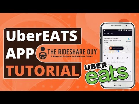 UberEATS Driver App Walkthrough