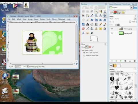 GIMP White Background Removal Tutorial