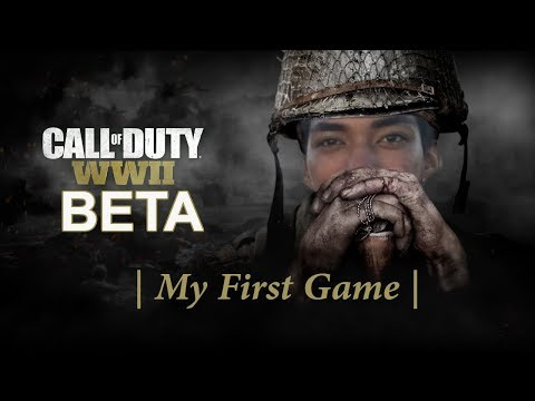 Call of Duty WW2: Private Beta | My First Game