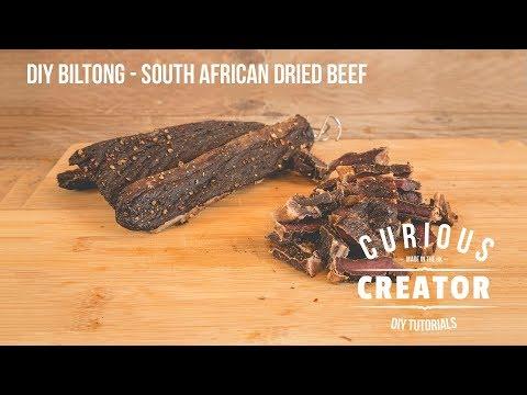 #18 South African Biltong Recipe - DIY Curious Creator