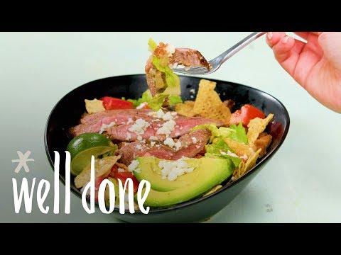 How To Make Carne Asada Bowls | Recipe | Well Done
