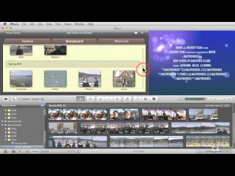 iMovie '11 102: What's New In iMovie '11 - 2. What are Movie Trailers?