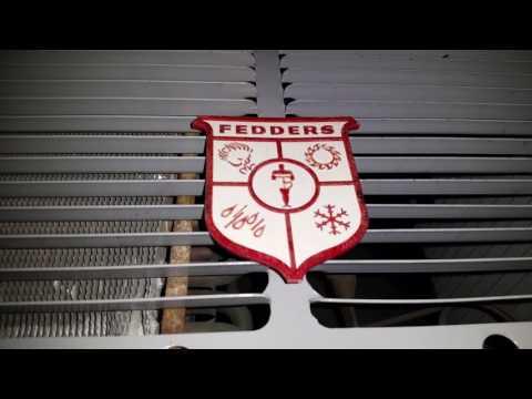 1964-1965 Fedders 8,000 BTU Weather Wheel Air Conditioner Installed!