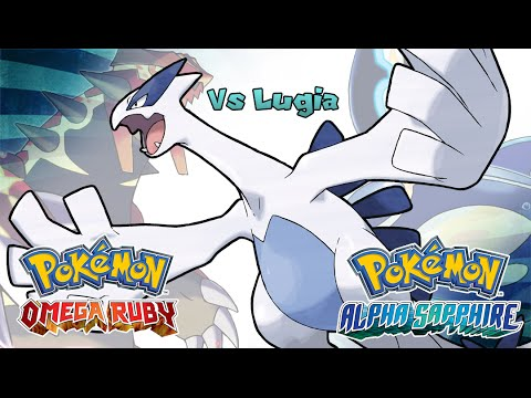 Pokemon Omega Ruby/Alpha Sapphire - Battle! Lugia Music (HQ)