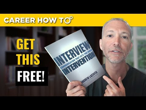 FREE Interview Intervention Hardcover and Join Me Every Thursday for Live Office Hours!
