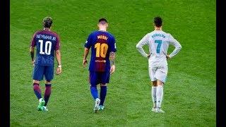 Messi vs Ronaldo vs Neymar ► The Battle of Rivals 2018