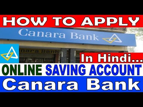 How to fill online Saving Account in Canara Bank || simplified in Hindi ||
