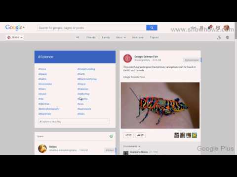 Google+ - How To See Science Posts On Google Plus