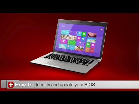 Toshiba How-To: Identifying and updating your bios on a Toshiba Laptop
