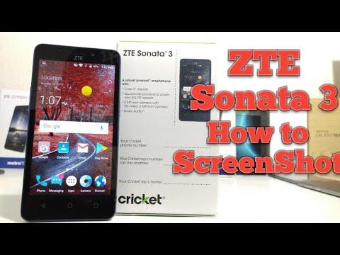 ZTE Sonata 3 How to ScreenShot