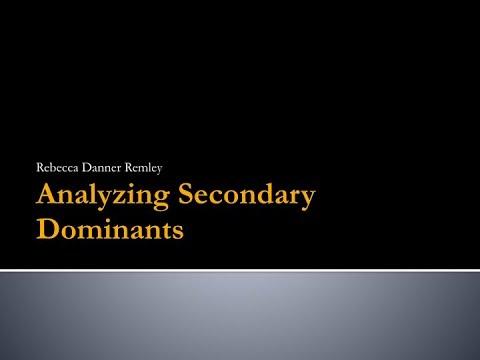 Analyzing Secondary Dominants