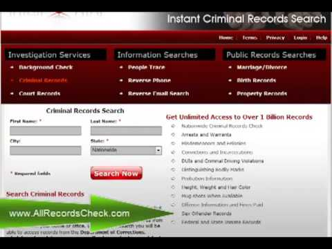 How to Do FREE Criminal Background Check Online