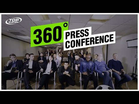 Experience A Football Manager's Press Conference | Top Eleven Virtual Reality