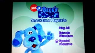 BLUE'S ROOM- Snacktime Playdate Menu Walkthrough