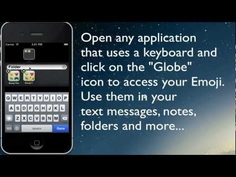 Integrate Emoji 2 icons into Keyboard for iOS 6 and iPhone 5