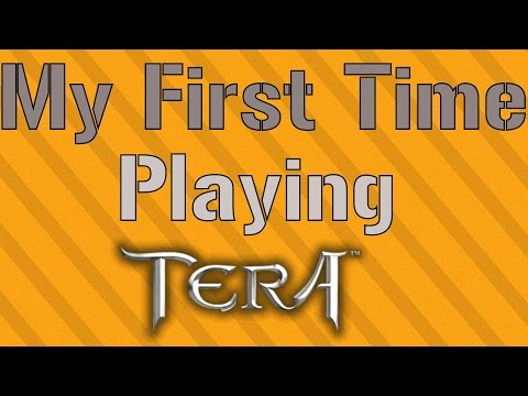 FIRST TIME PLAYING TERA [Tera Gameplay #1]