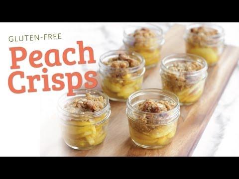 Gluten Free Peach Crisp Recipe - The Hot Plate