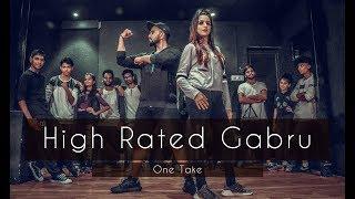 HIGH RATED GABRU | One Take | Guru Randhawa | Tejas Dhoke Choreography | Dancefit Live