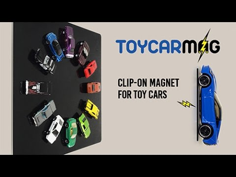 ToyCarMag | Hot Wheels compatible clip on magnet.