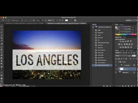 Adding Transparent Text Box To Image on PhotoShop