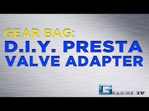HOW TO USE A PRESTA VALVE WITH ANY PUMP - Gear Bag from Gearist.com