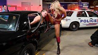 Ronda Rousey versus Charlotte Flair MEGACLASH Full Match Video Breakdown by Paulie G