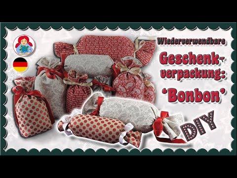DIY | Wiederverwendbare Geschenkverpackung: 'Bonbon'• Sami Dolls Tutorials