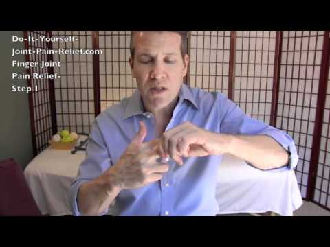 Finger Joint Pain Relief - Step 1