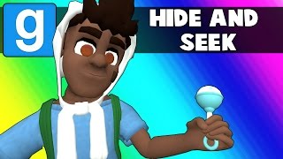 Gmod Hide and Seek Funny Moments - Helicopter Babies (Garry