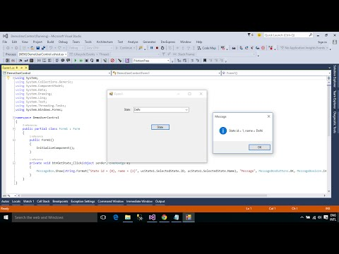 C# Tutorial - How to Create and use User Control | FoxLearn